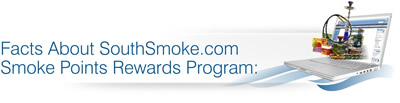 earn reward points redeemable towards Hookah Brothers hookas, flavored tobacco, waterpipes and more