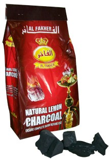 Al-Fakher Lemon Wood Charcoals