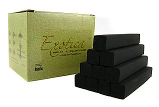 Exotica Square Finger Charcoal 1 Kilo Box