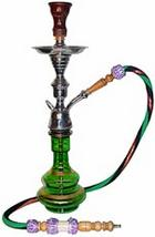 small 21 in. single hose hookah