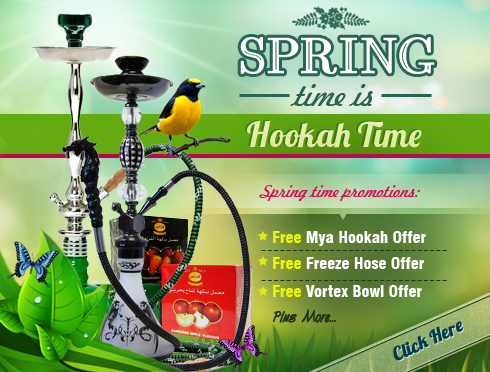 Spring Time Is Hookah Time