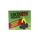 CocoUrth Coconut Charcoal Hex 120 Piece Box