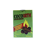 CocoUrth Coconut Charcoal Hex 60 Piece Box