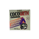 CocoUrth Coconut Charcoal Mini Cube 100 Piece Box