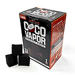 CocoVapor Coconut Charcoal Cube 72 Piece Box