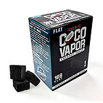 CocoVapor Coconut Charcoal Flat 108 Piece Box