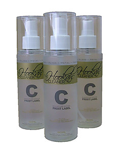 The Hookah Cleaner Frost Label C Series
