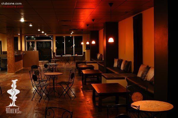 40 thieves hookah lounge hookah lounge directory at - Shisha bar lounge mobel ...
