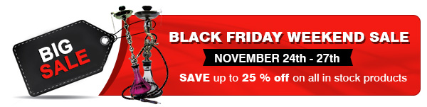 Black Friday Hookah Weekend Sale