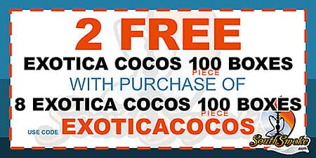Exotica Coconut Charcoal Coupon