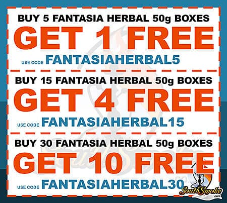 Free Fantasia Herbal Hookah Promotion