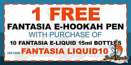 Fantasia F1 Rechargeable E-Hookah Pen Starter Kit | South Smoke