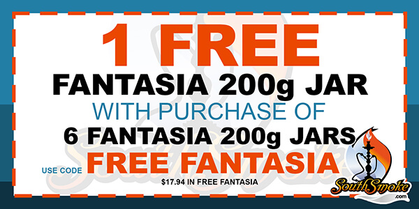 Fantasia Tobacco 200g Coupon