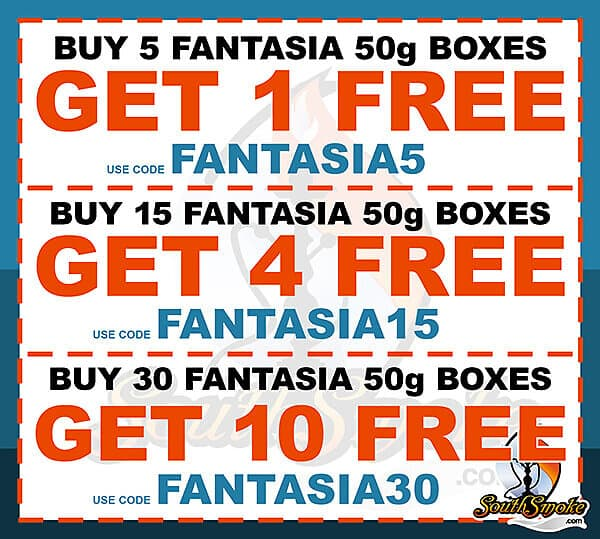 Fantasia Tobacco 50g Coupon