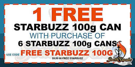 Starbuzz Tobacco 100g Coupon