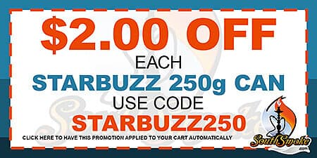 Starbuzz Tobacco 250g Coupon