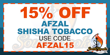 15% Off Afzal Tobacco Promotion