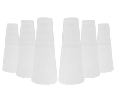 Wide disposable hookah tip
