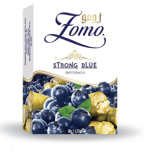 Zomo Strong Line: Premium Flavored Tobacco 50g