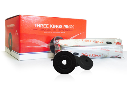 Three Kings Rings Charcoal Box 44mm