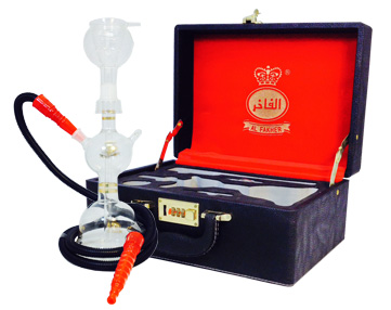 The Al-Fakher Glass Hookah
