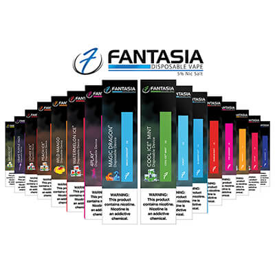 Fantasia Vape Bar 5% Nic Salt