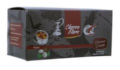 Charco Flare Coconut Charcoal Quarter Circle 16 Piece Box