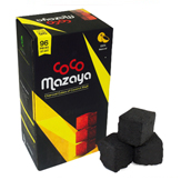 CocoMazaya Coconut Charcoal 96 Piece Box