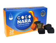 CocoNara Coconut Charcoal 20 Piece Box