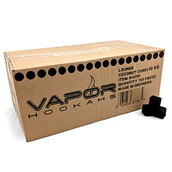 CocoVapor Coconut Charcoal Cube 720 Piece Box