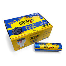 Crown Charcoal Box 40mm