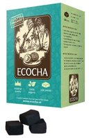 Ecocha Coconut Charcoal Flat 108 Piece Box