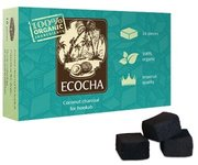 Ecocha Coconut Charcoal Flat 16 Piece Box