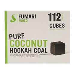 Fumari Fuoco Coconut Charcoal Cube 112 Piece Box