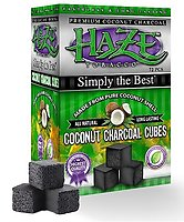 Haze Coconut Charcoal Cube 72 Piece Box