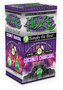 Haze Coconut Charcoal Flat 108 Piece Box