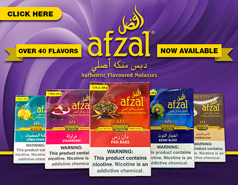 Afzal Hookah Tobacco Authentic Flavored Molasses