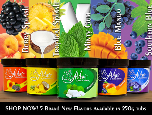 Al-Amir New Flavors January 2018 250g Tubs
