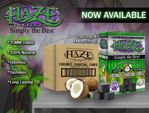 Haze Coconut Charcoal Cubes