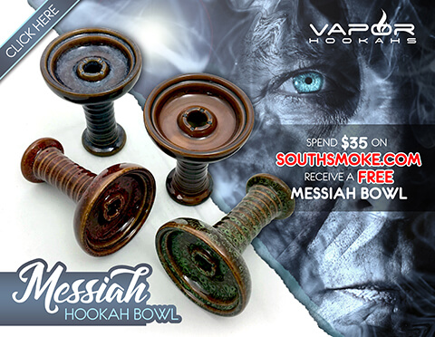 Free Messiah Hookah Bowl Promotion