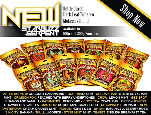 Starbuzz Serpent Premium Flavored Tobacco 100g and 200g