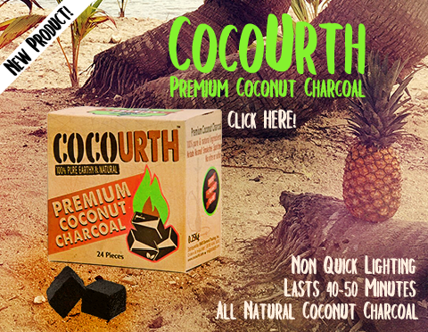 CocoUrth Coconut Hookah Charcoal