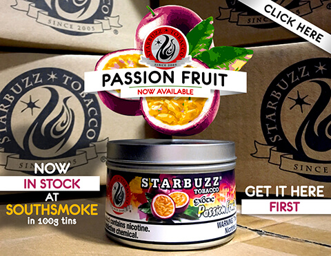 Starbuzz Tobacco Passion Fruit 100g Tin In Stock