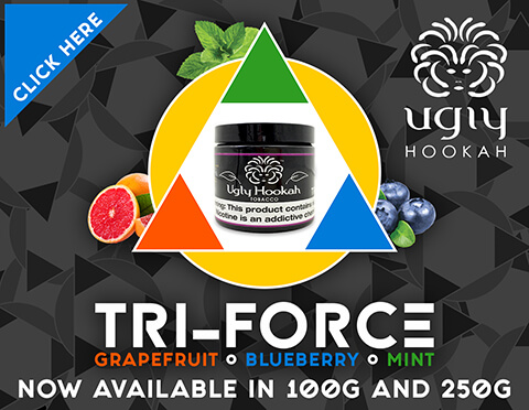 Ugly Hookah Shisha Flavored Tobacco grapefruit blueberry mint