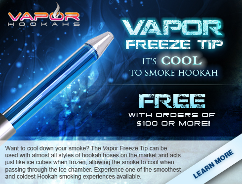 Free Vapor Freeze Tip Promotion