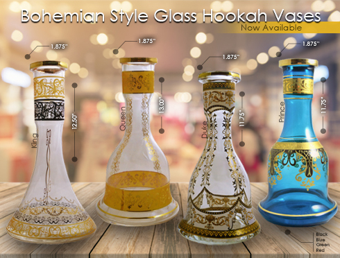 Bohemian Vases and New Products